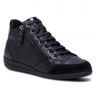 Sneakersy GEOX - D Myria B D0468B 08522 C9999 Black