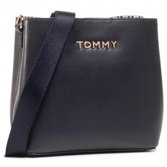 Torebka TOMMY HILFIGER - Iconic Tommy Crossover AW0AW08627 BLU