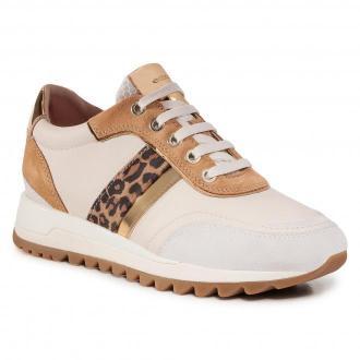 Sneakersy GEOX - D Tabelya A D02AQA 02285 C1002 Off White
