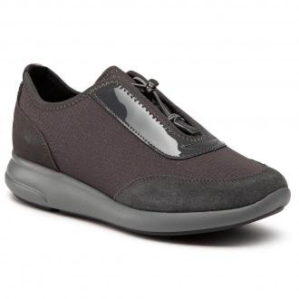 Sneakersy GEOX - D Ophira A D021CA 0EW22 C9004  Anthracite