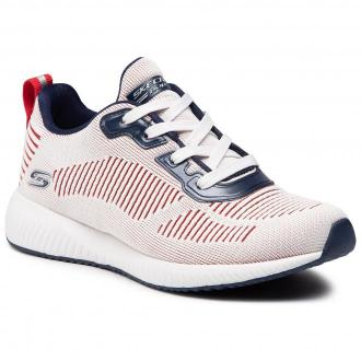 Buty SKECHERS - Confetti Fever 117001/WNVR White/Navy/Red