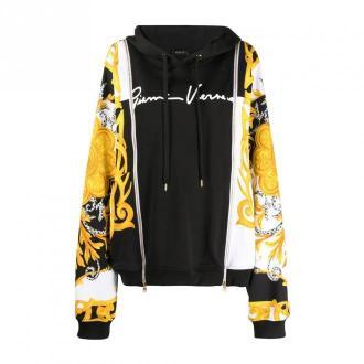 Versace Sweter Swetry i bluzy Czarny Dorośli Kobiety Rozmiar: 42 IT