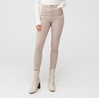 Mohito - Spodnie skinny fit Eco Aware - Beżowy