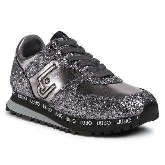 Sneakersy LIU JO - Wonder 145 4F0703 EX015 Pewter 00572