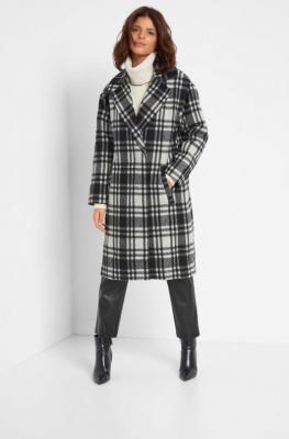 Płaszcz oversize z wełną