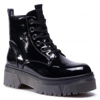 Trapery WRANGLER - Piccadilly Mid Patent WL02660A Black 062