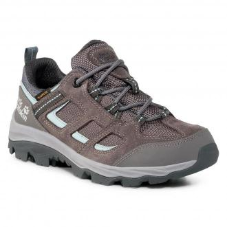 Trekkingi JACK WOLFSKIN - Vojo 3 Texapore Low W 4042451 Tarmac Grey/Light Blue