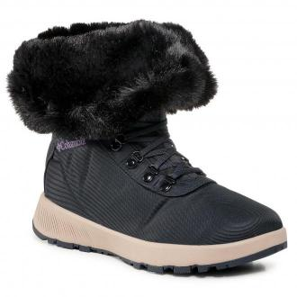 Śniegowce COLUMBIA - Slopeside Village™ Omni-Heat™ Hi BL0146 Extreme Midnight/Cyber Purple 444