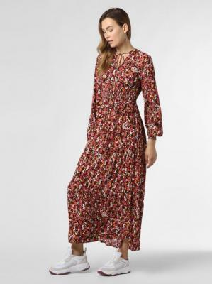 ONLY - Sukienka damska – ONLVick, czerwony