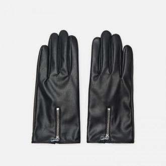 Cropp - Rękawiczki z zamkiem - Czarny