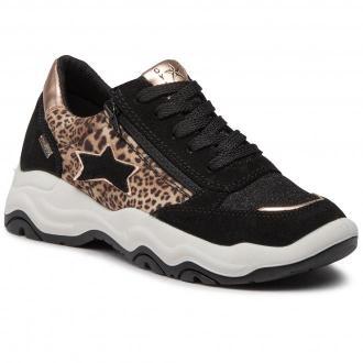 Sneakersy IMAC - 630458 D Black/Pink 7000/008