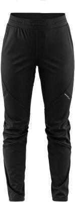 Craft Glide Spodnie do biegania Kobiety, black L 2020 Zimowe spodnie do biegania