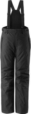 Reima Wingon Spodnie zimowe Młodzież, black 104 2020 Spodnie narciarskie