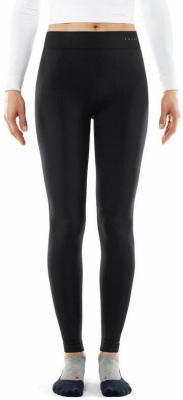 Falke Artic Brush Długie spodnie Kobiety, black XS 2020 Legginsy termiczne i narciarskie