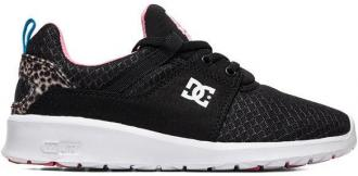 Dc HEATHROW TX SE BLACK/PINK/BLACK pantofle damskie letnie - 36,5EUR