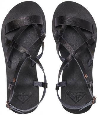 Roxy LAYTON black sandały letnie kobiety - 39EUR