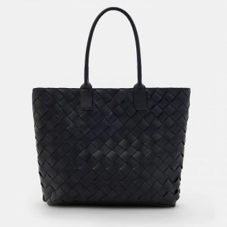 Mohito - Fakturowana torebka shopper - Czarny
