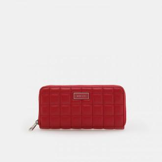Mohito - Pikowany portfel - Czerwony