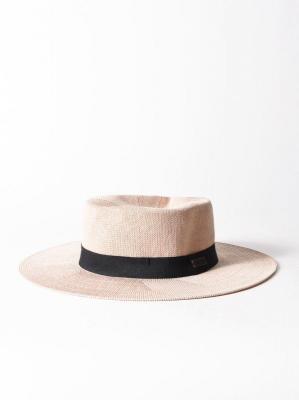 Roxy GET SOME SUNSHINE IVORY CREAM panie słomy kapelusz - S/M