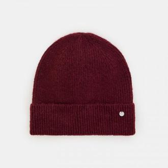 Mohito - Dzianinowa czapka Eco Aware - Bordowy