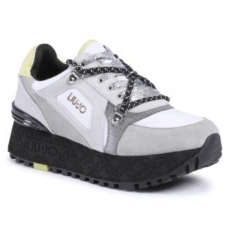 Sneakersy LIU JO - Wonder Maxi 13 BF0077 PX002 Ciment S1038