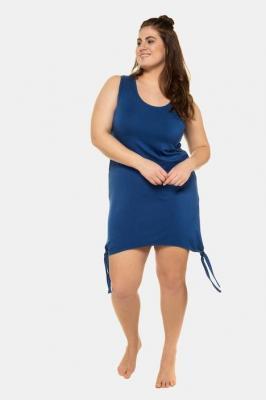 Duże rozmiary Koszula nocna, damska, niebieski, rozmiar: 42/44, wiskoza, Ulla Popken