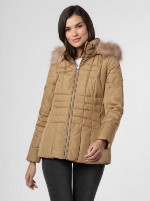 Calvin Klein - Damska kurtka pikowana, beżowy