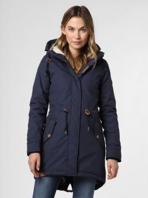 Ragwear - Parka damska – Elba Coat B, niebieski