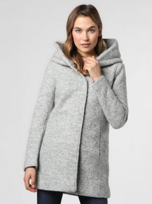 ONLY - Płaszcz damski – ONLSedona, szary