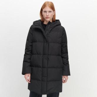 Reserved - Puchowy płaszcz - Czarny
