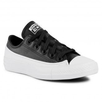 Trampki CONVERSE - Ctas Ox 168921C Black/White/White