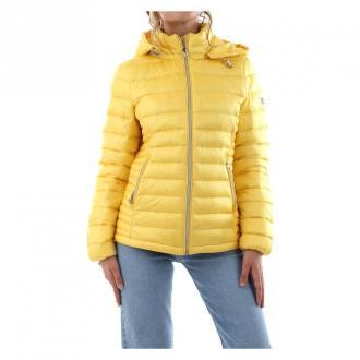Calvin Klein K20K202044 Jacket Kurtki Żółty Dorośli Kobiety Rozmiar: M
