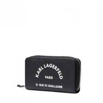Karl Lagerfeld Wallet Akcesoria Czarny Dorośli Kobiety Rozmiar: