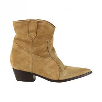 Lemaré Texan ankle boots Obuwie Beżowy Dorośli Kobiety Rozmiar: 36