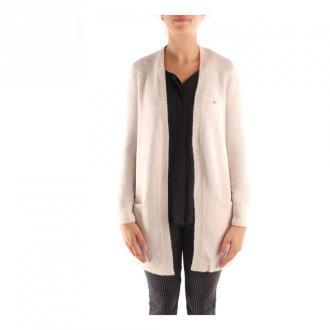Calvin Klein K20K202253 Knitwear Swetry i bluzy Beżowy Dorośli Kobiety