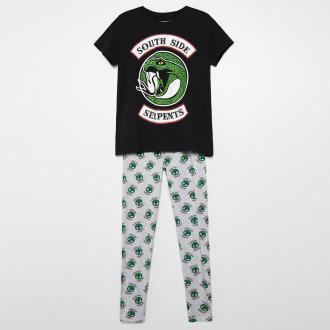 Cropp - Dwuczęściowa piżama Riverdale - Szary