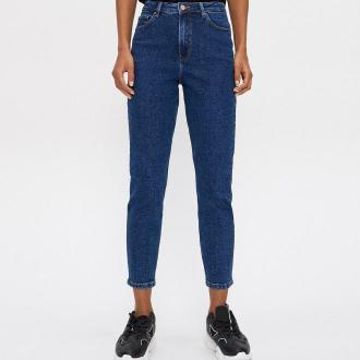 House - Mom jeans - Granatowy