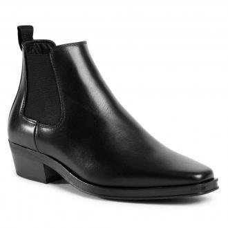 Sztyblety CLARKS - Alcina Top 261556984 Black Leather