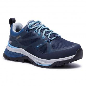Trekkingi JACK WOLFSKIN - Force Striker Texapore Low W 4038891 Dark Blue/Light Blue