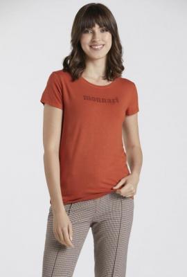 T-shirt z napisem Monnari