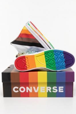 Trampki Converse 167758C WHITE/UNIVERSITY RED