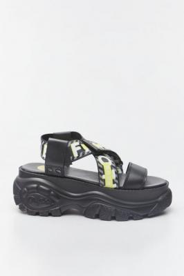 Sandały Buffalo BO 1501036-blk BLACK