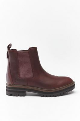Buty Timberland LONDON SQUARE CHELSEA TB0A1S91C601 BURGUNDY FULL-GRAIN