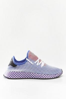 Buty adidas Deerupt Runner W CG6095 ORANGE/ACTIVE PURPLE/SHOCK RED