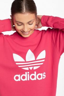 Bluza adidas TRF CREW SWEAT GD2436 RASPBERRY