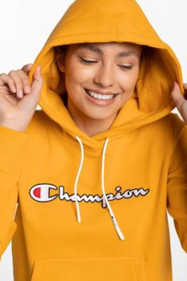 Bluza Champion Hooded Sweatshirt 113185-YS026 YELLOW
