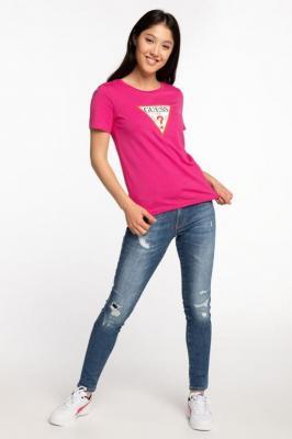 Koszulka Guess SS CN ORIGINAL TEE W0BI25I3Z11-G63G PINK