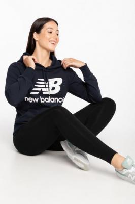 Bluza New Balance BLUZA ESSENTIALS PULLOVER HOODIE ECL WT03550ECL NAVY