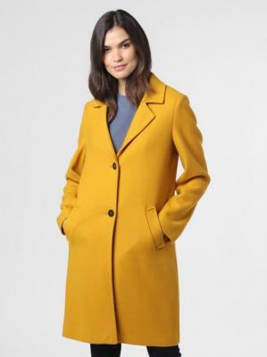 s.Oliver - Płaszcz damski, żółty