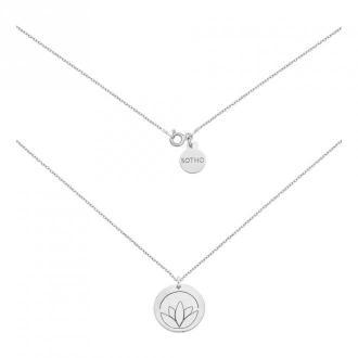 medalion z lotosem